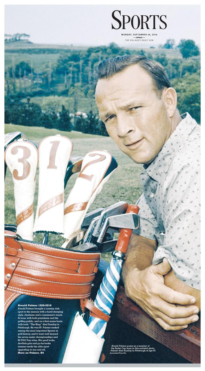 Arnold Palmer dies