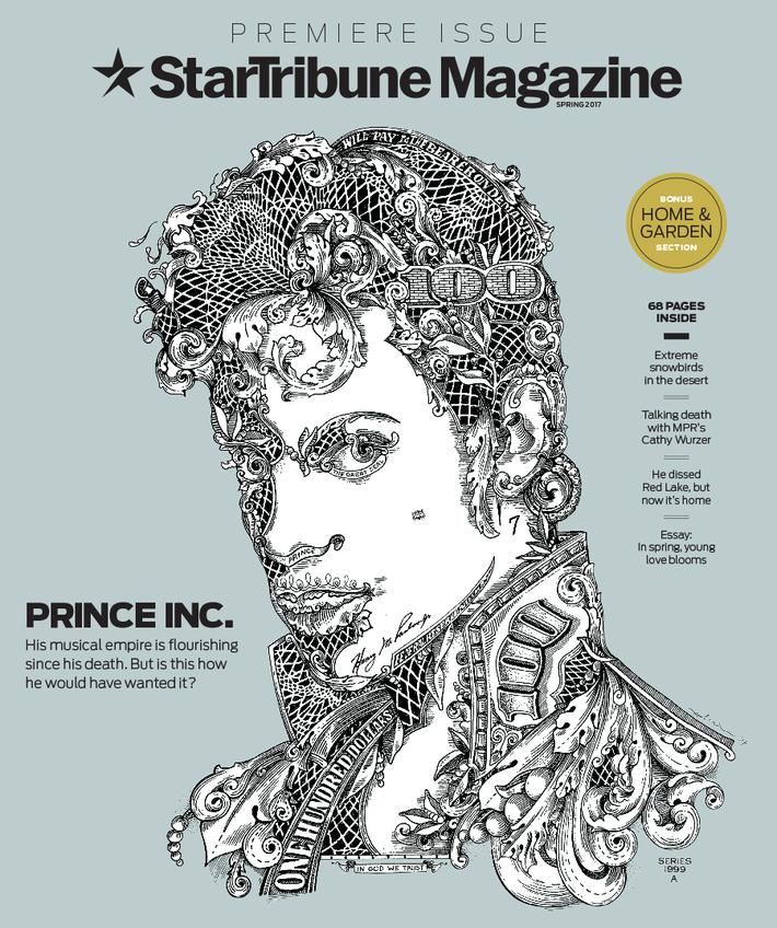 Star Tribune Magazine, Spring 2017, cover