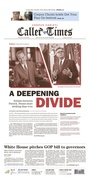 Corpus Christi Caller-Times // A deepening divide // 07.16.17