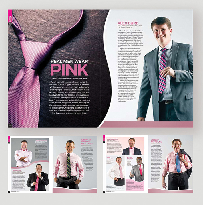 Chatter Magazine - Real Men Wear Pink