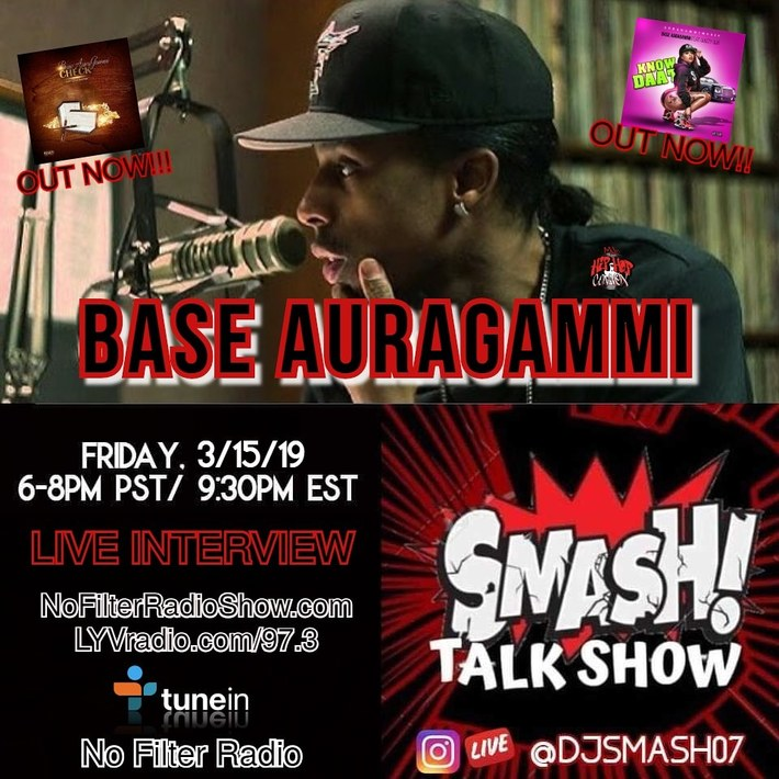 Smash Talk Show Flyer