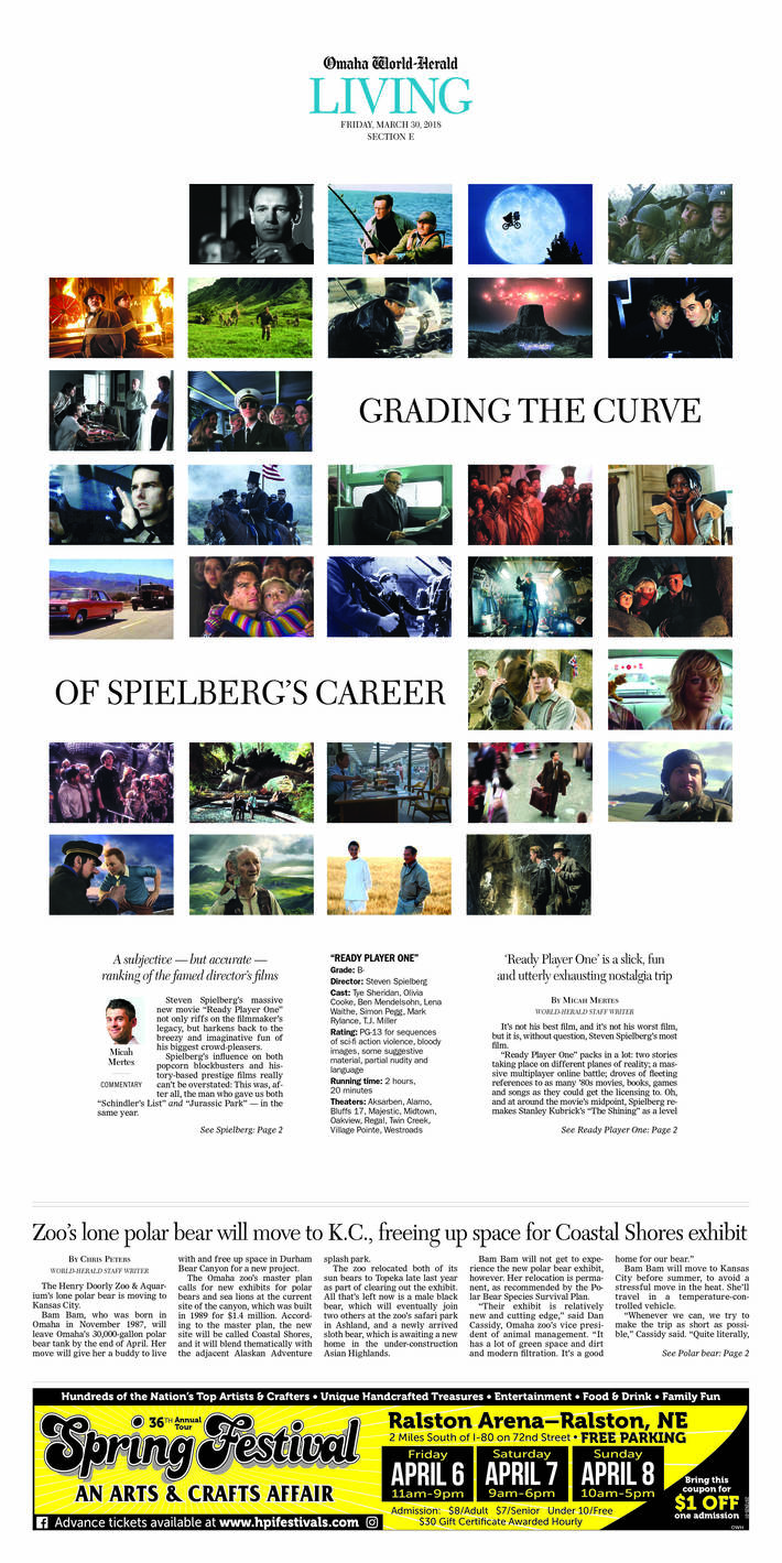 Grading the Curve of Spielberg's Career