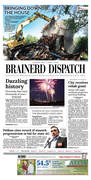 Brainerd Dispatch front page 07/03/2018