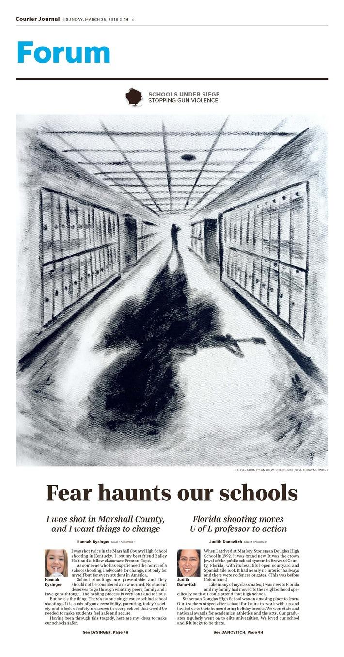 Fear Haunts Our Schools