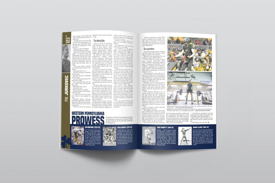 Notre Dame Insider Spread