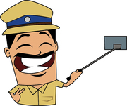 #police _artoon#mathrubhumi#vijeshviswam#