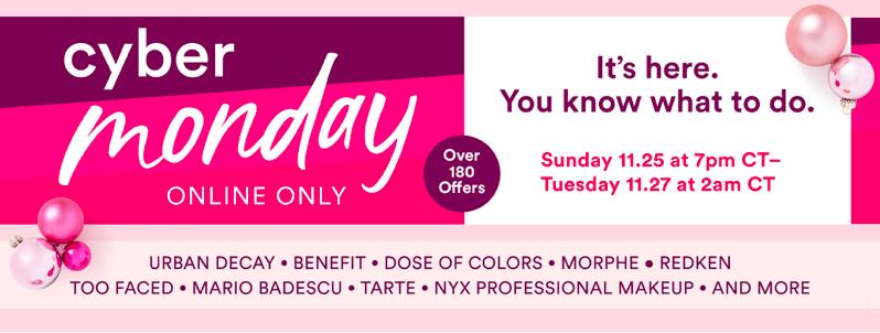 Ulta's Cyber Monday Extravaganza | Best Makeup Deals – Glam