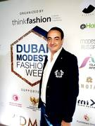 Mohamed Dekkak at Dubai Modest Fashion Week 2019 Emerald Palace Kempinski Dubai