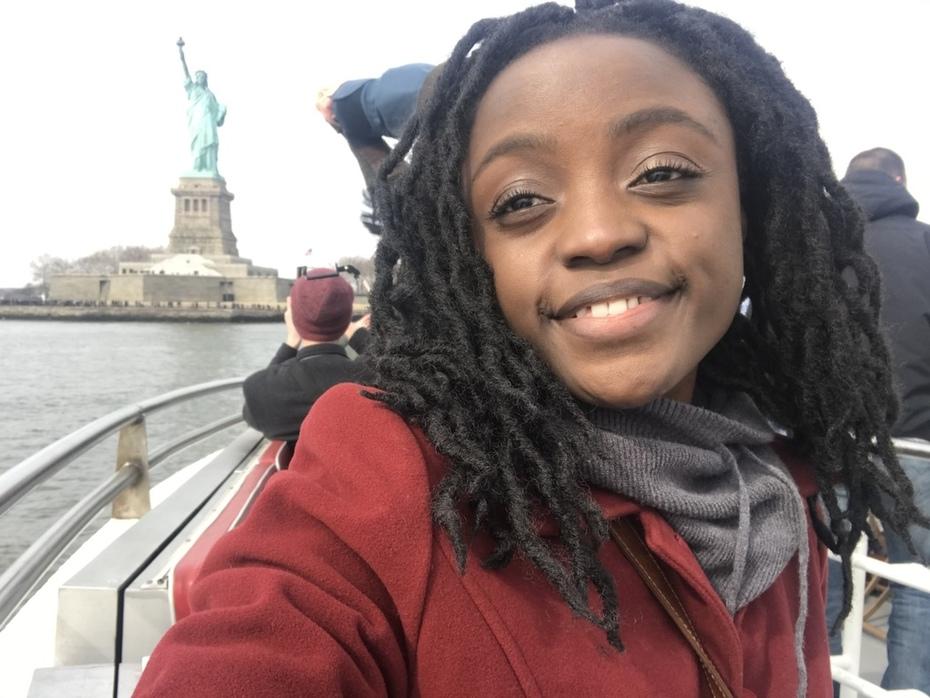 Exploring NY after receiving my Visa for China