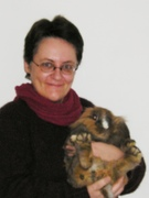 Me & Leeuwie (one of my four rabbits)