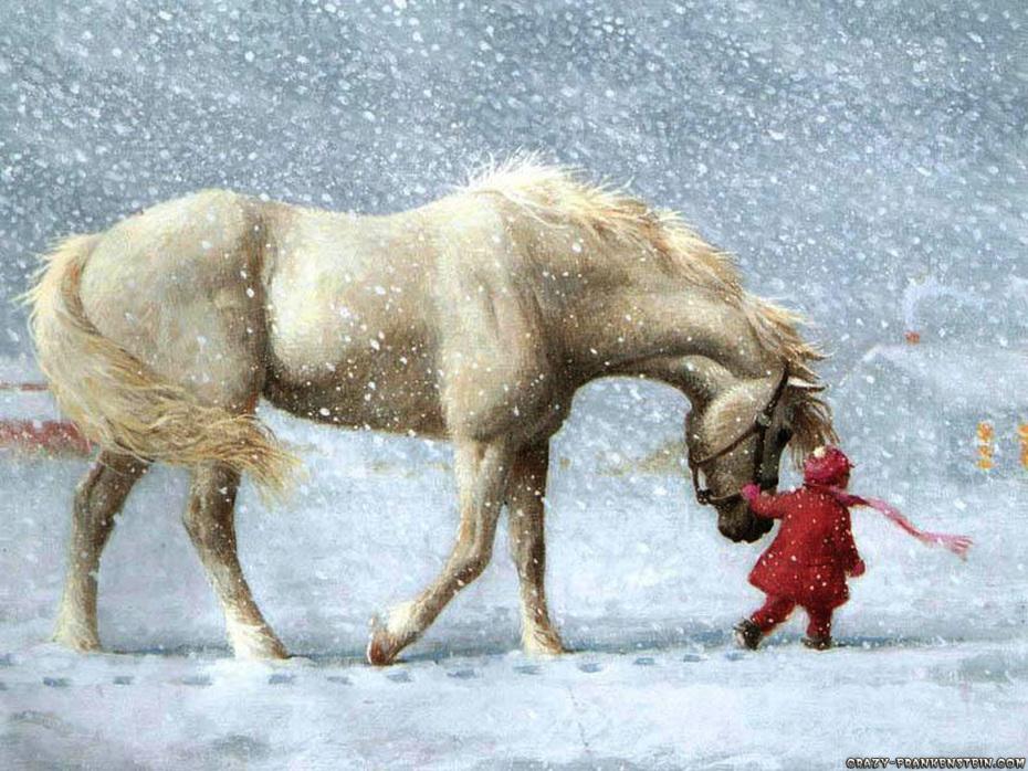 christmas-scene-horse-theme +