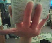 Hand reference photo