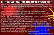 Red Food Dye Truth