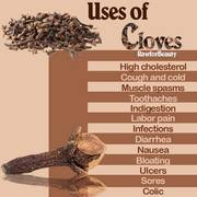 CLOVES AS MEDS