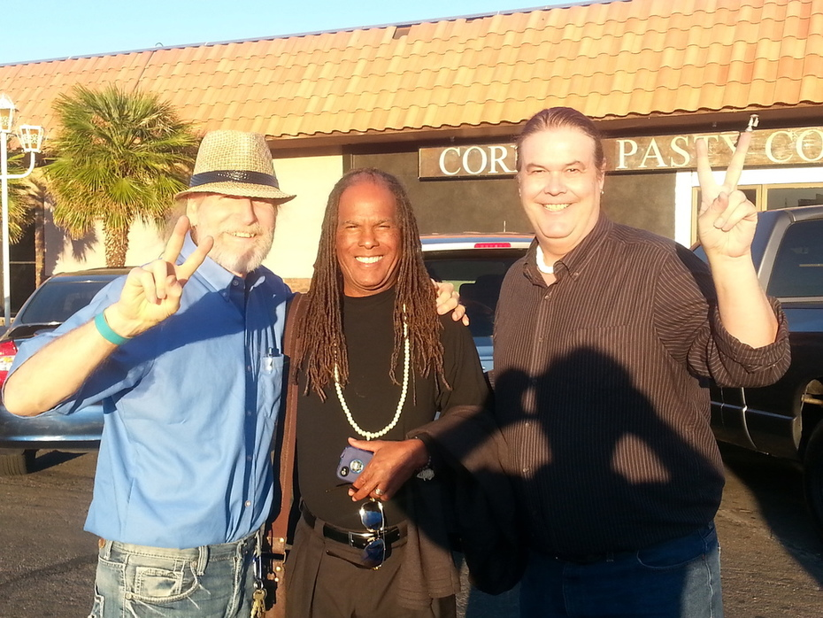With Michael Beckwith and the Yogi Zen Dude