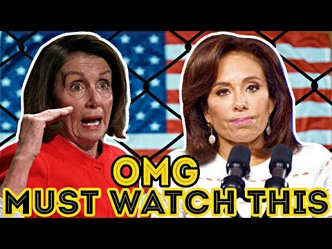 Judge Jeanine Risks Everything To Expose Who Pelosi Might Work For, Don't Give A D*MN! VIRAL !!