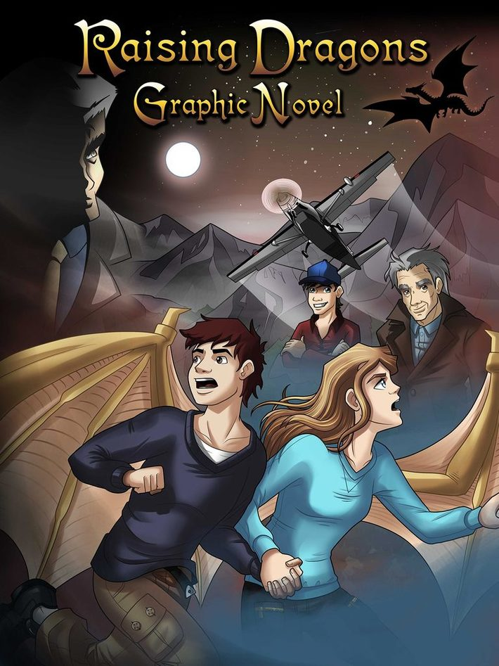 Raising Dragons Graphic Novel Poster
