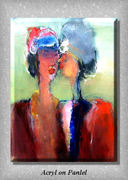 Acrylicpainting on canvas