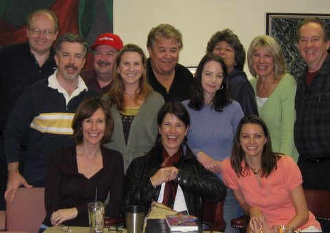 Voice Over students at Marice Tobias Seminar in Atlanta, 2009