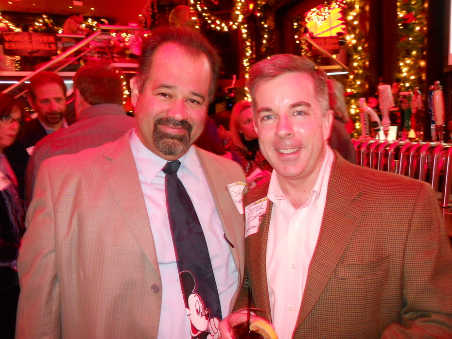 Joe Rodriguez & Peter K. O'Connell at the 2010 NYC Voiceover Mixer