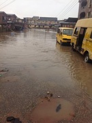 Pictorial - Easter Flood De Resurrects Lagos After Rain
