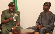Fashola - Maximum Defence of Nigeria's Democracy, Tells Army Boss Minimah, Military
