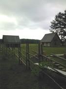 Setumaa-traditional fence and buildings