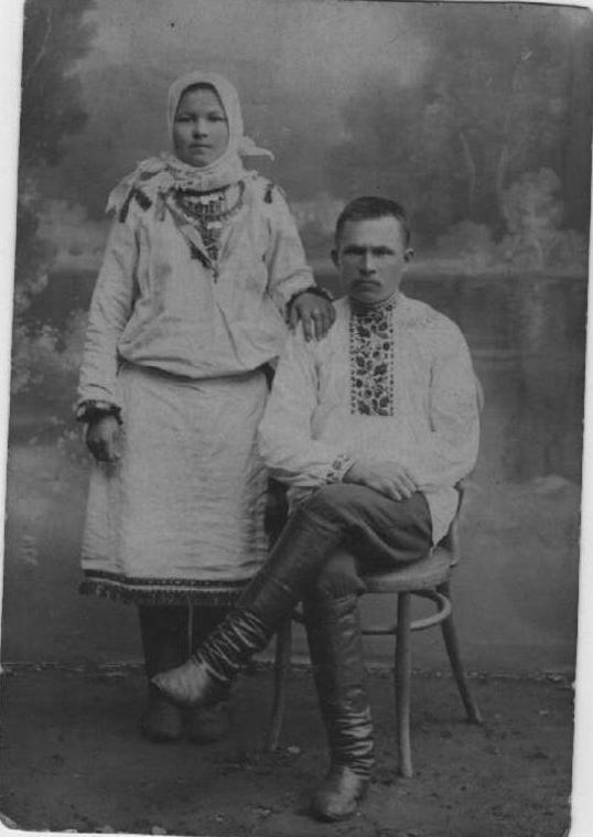 прадед и прабабушка