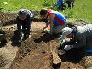 Раскопки мордовского могильника у села Помра