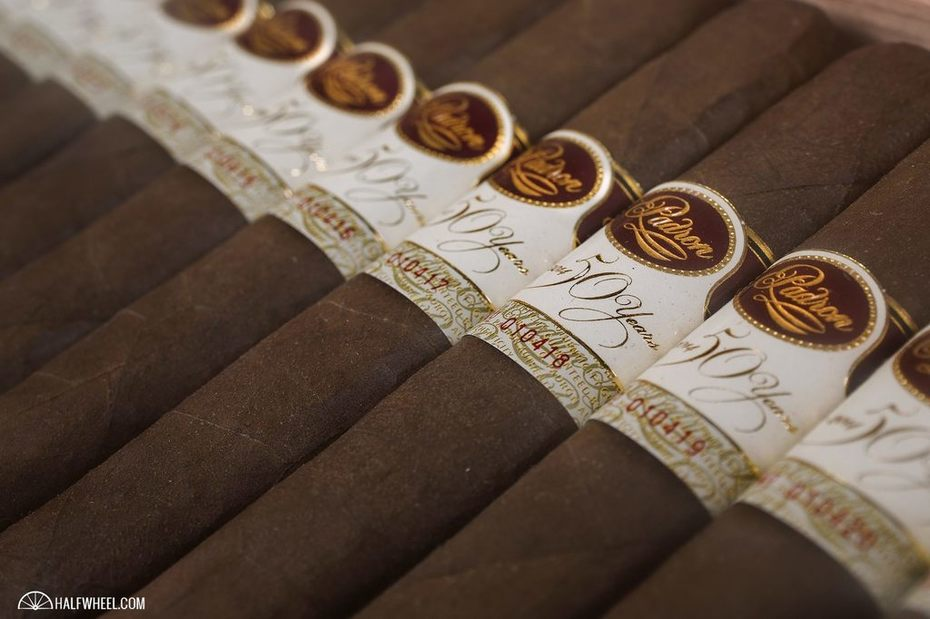 Padron 50th Anniversary. Makes my mouth water!