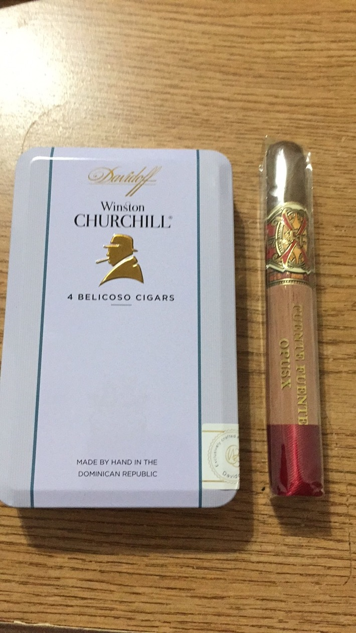 Davidoff and Opus X