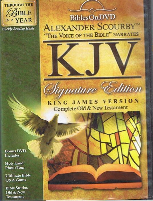 The KJV Bible on DVD