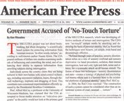 Goverment accused of no-touch torture