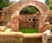 Necropolis at Ostia
