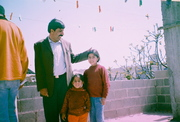 Pal Father kids refugee camp