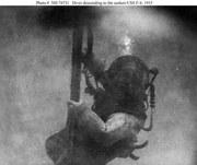 USN Diver on USS SKATE (F-4) Salvage