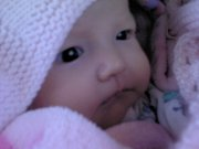 My nicec leta  a few weeks old aww love you baby girl your so cuite