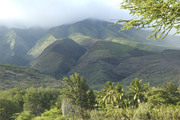 Mountains above Kamalo