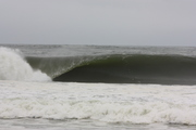 Fast moving swell