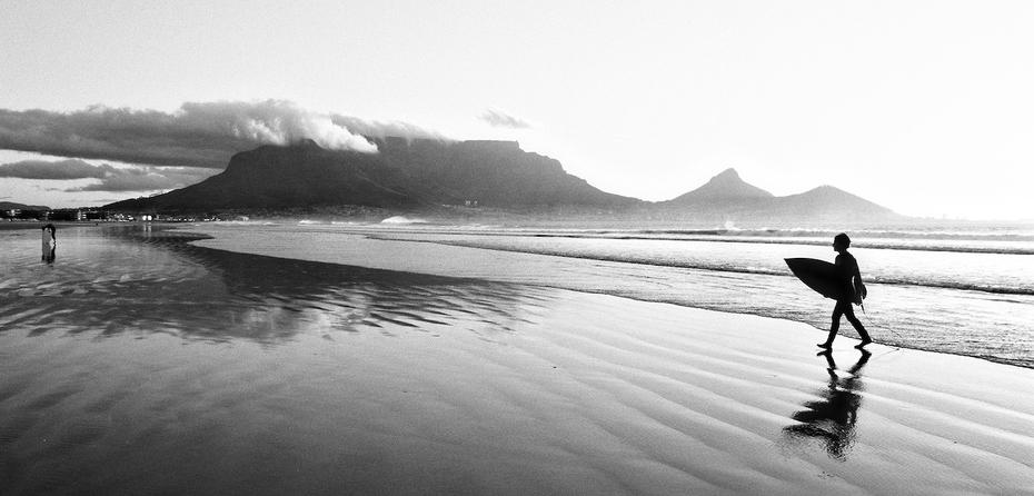 Cape Town surfer