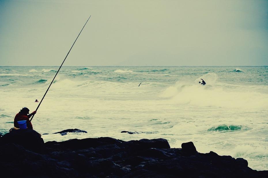 Fisherman pose