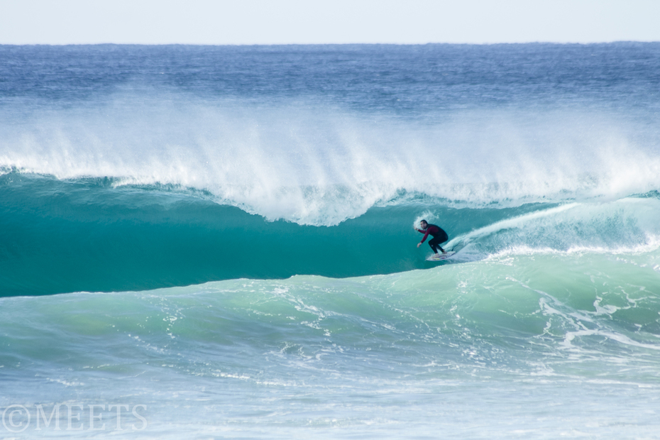 What a wave!!! Surfer unknown.