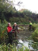 Pond clearing Oct 2018