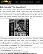 "92.9 FM (THE DRIVE) FEATURING BABYBOY WITH  HIS HIT SINGLE ""INSIDE ME"""