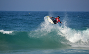 Proudly South African. Jordy at the Ballito Pro