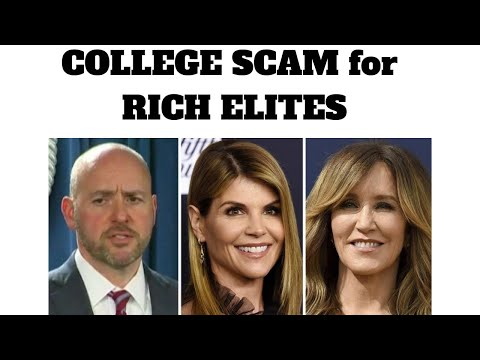 College admission Scam and Blacks/Hispanics Broke by 2035 by Yang