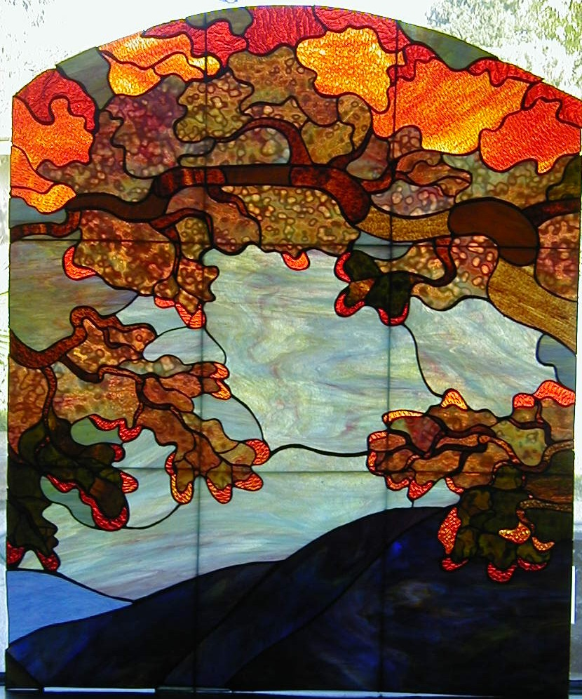 Autumn Triptych (center)