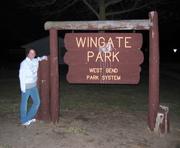 Wingate Park Sign