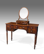 Antique dressing table, georgian dressing table, breakfront dressing table:Thakeham Furniture, Petworth, West Sussex, UK