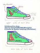 Mythical shoe (collaboration)
